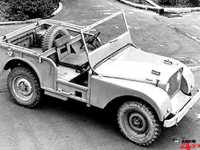 1947 Land Rover Prototype with centre Steering C-228937