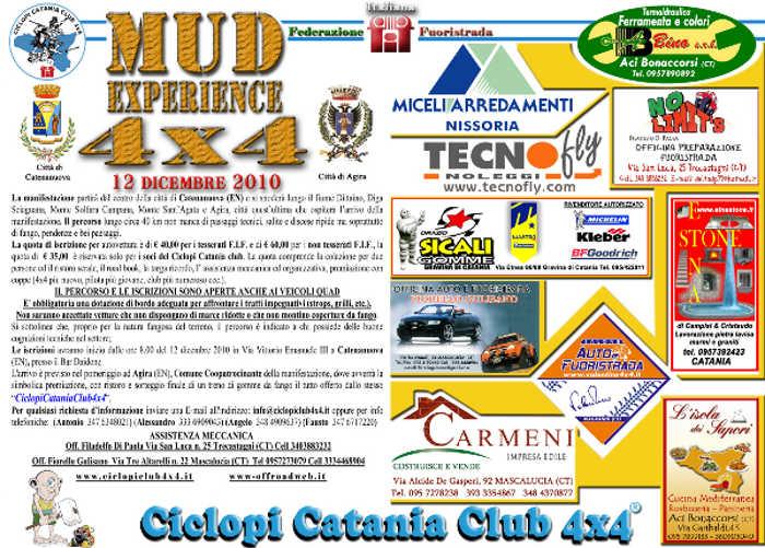 Mud Experience 4x4 by Ciclopi Catania Club 4x4 - ElaborarE 4x4