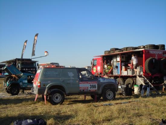Dakar 2012 bivacco Tecnosport