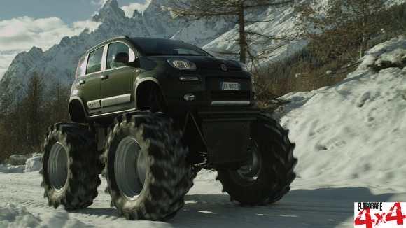 4×4 Off Road >> Fiat Panda Monster Truck, un 4×4 esagerato