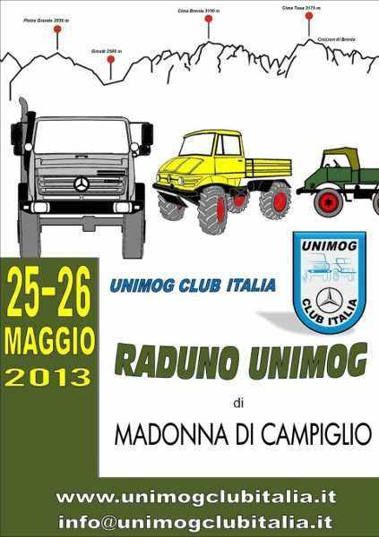 "locandina Raduno Unimog ""Madonna di Campiglio"" by Unimog Club Italia"