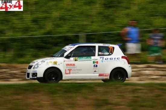 Alessandro Uliana e Angelo Mirolo sulla Suzuki Swift N2