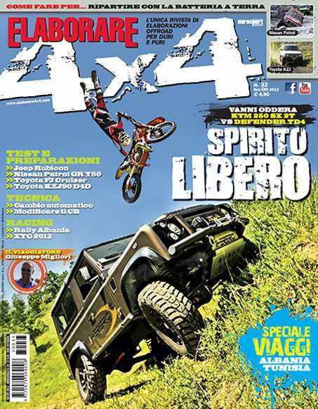Cover Elaborare 4x4 Settembre-Ottobre 2013