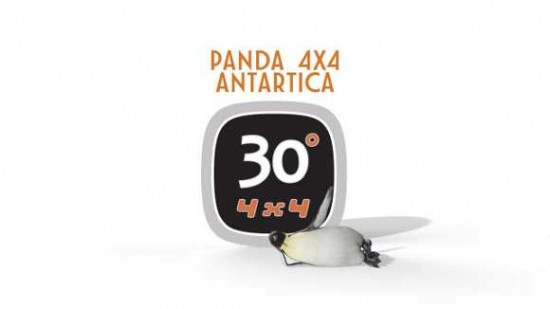 Logo Panda 4x4 Antartica