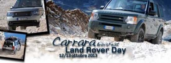 Locandina Land Rover Day a 4x4Fest 2013