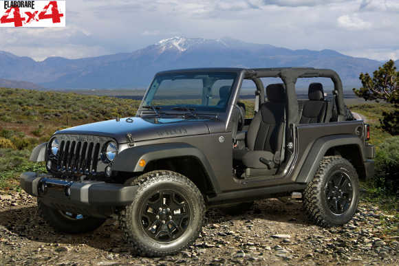 Jeep Wrangler Willys 2014 Wheeler Editions