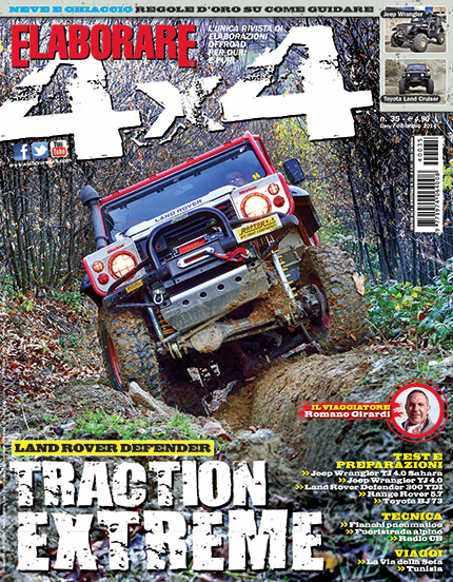 Cover Elaborare 4x4 Gennaio-Febbraio 2014