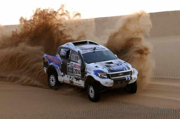 Ford Racing Dakar in azione