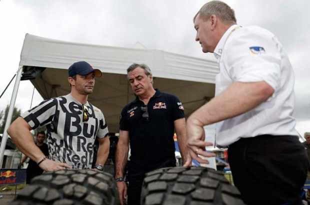Loeb e Carlos Sainz