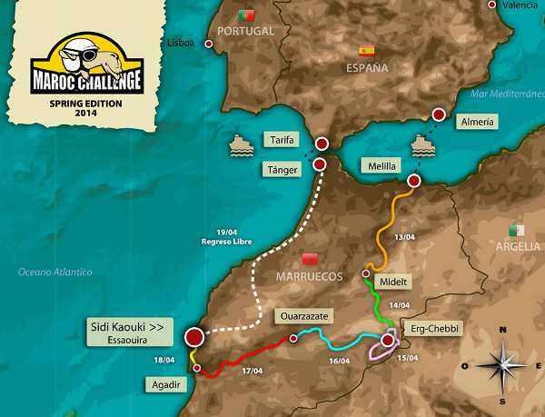 Percorso-Maroc-Challenge-Spring Edition-2014