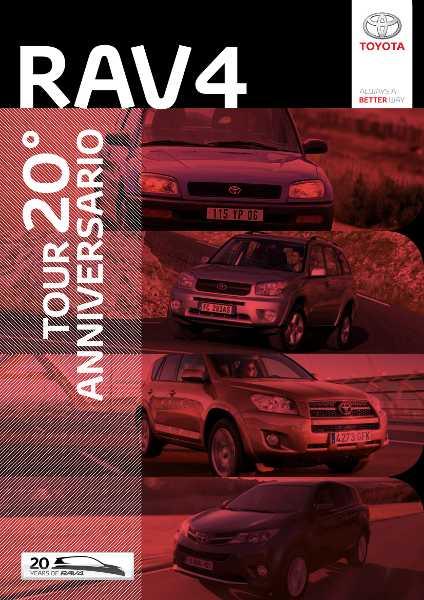 locandina Tour RAV4 20° Anniversario