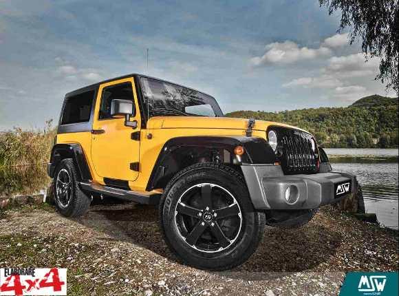Nuovi cerchi in lega MSW by OZ Racing su Jeep Wrangler