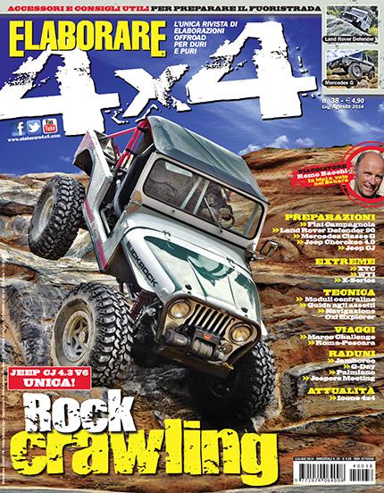 Elaborare 4x4 nuovo numero Luglio-Agosto 2014