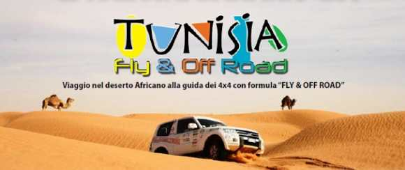 Locandina Tunisia Fly&Offroad