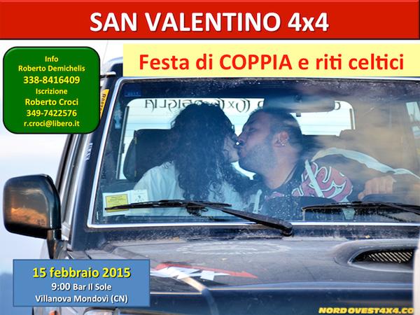 Locandina Tour San Valentino 4x4