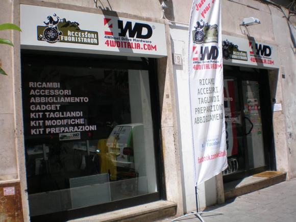 Preparazioni e restauri fuoristrada by 4WD Italia