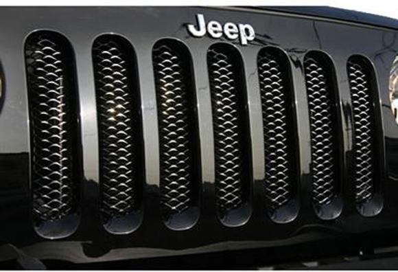 Griglia mascherina Jeep Wrangler by 4WD Italia