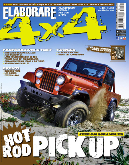 Cover Elaborare 4x4 Maggio-Giugno 2015