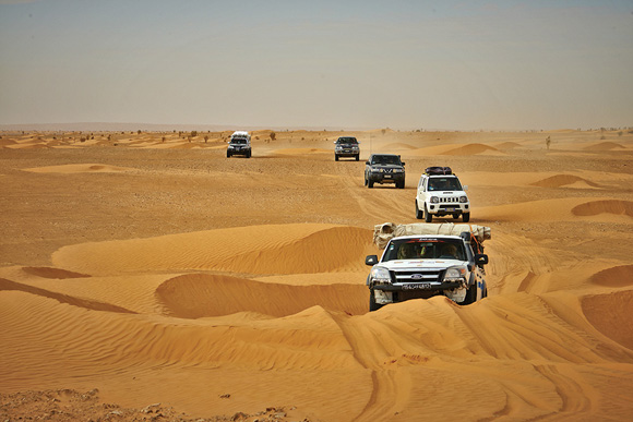Viaggio off road Tunisia