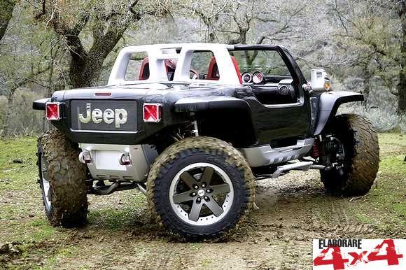 Tecnica trazione Jeep Hurricane