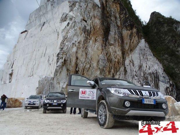 Mitsubishi Day al 4x4Fest di Carrara