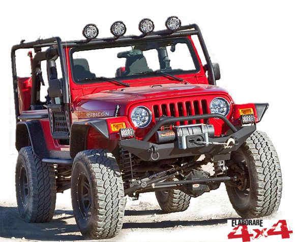 Jeep Wrangler TJ equipaggiata 4WD Italia