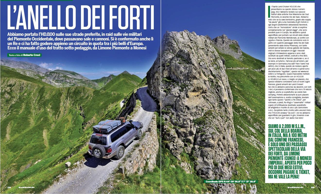 Via del Sale Piemonte
