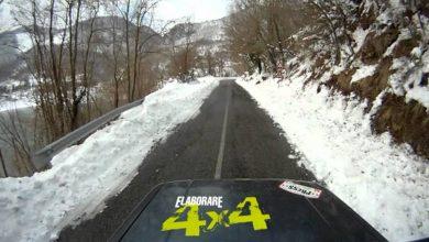 Photo of Escursione 4×4 sulla neve [lago turano]