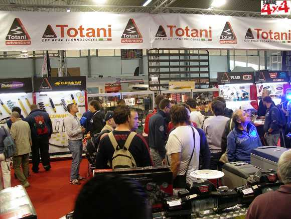 Photo of Totani al Salone 4x4Fest di Carrara