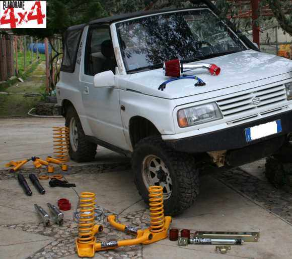 Photo of Assetto completo HM4x4 per Suzuki Vitara