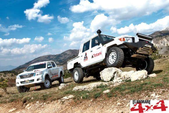 Toyota Land Cruiser preparazione Totani
