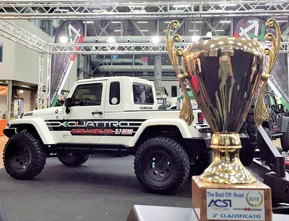 Photo of XQuattro al Salone 4x4Fest di Carrara