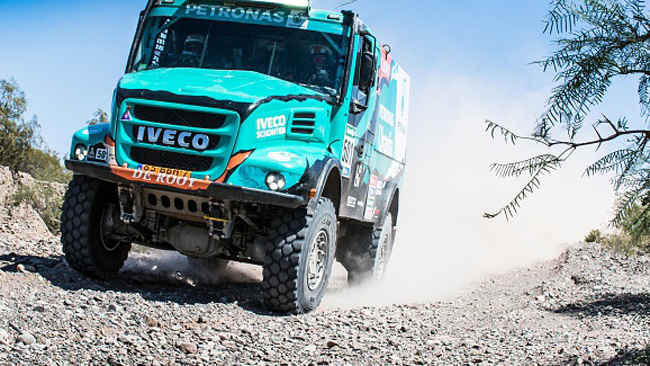 Photo of Camion DAKAR Iveco Petronas campione