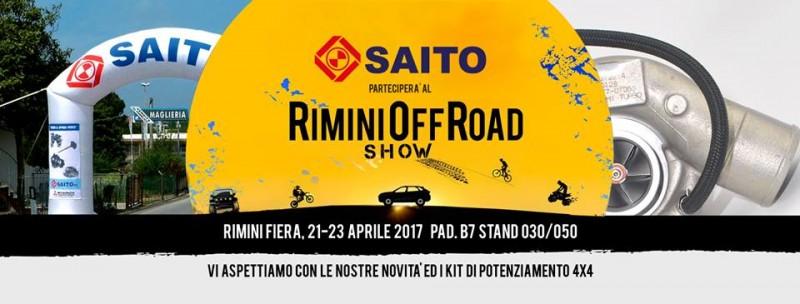Saito a Rimini Offroad 2017