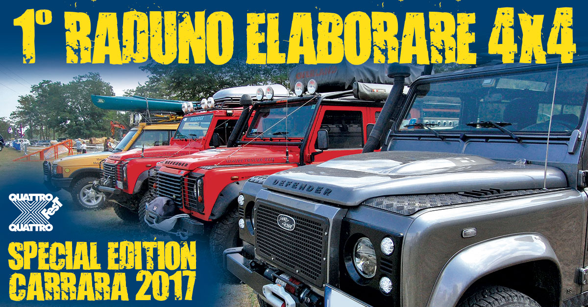 Photo of 1° Raduno Elaborare4x4 a Carrara 2017