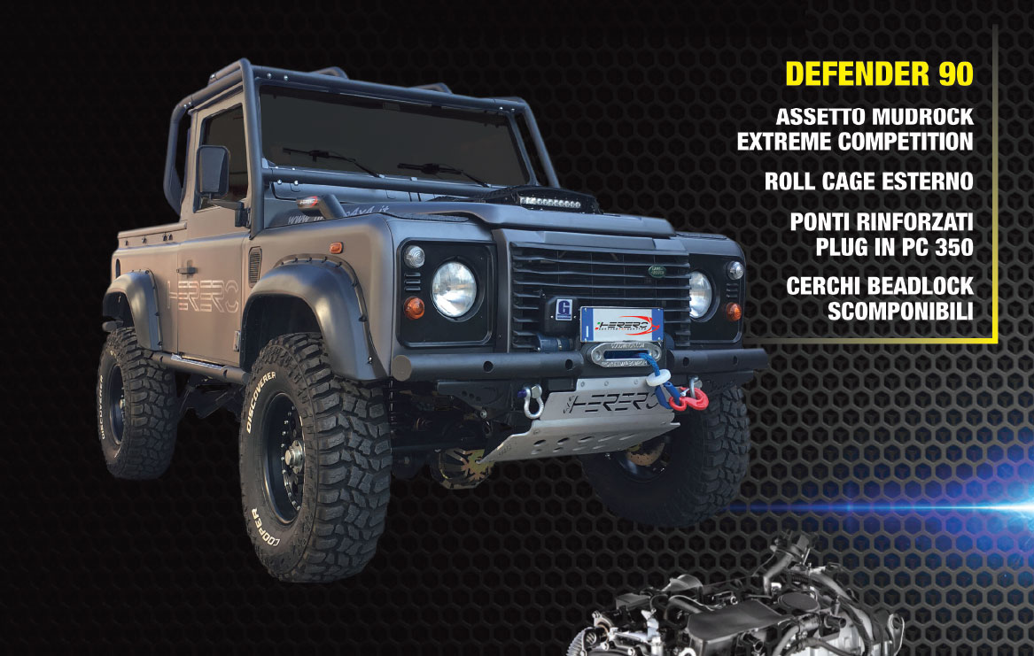 Photo of Torna il Defender 3000 Twin Turbo rinnovato da Herero4x4