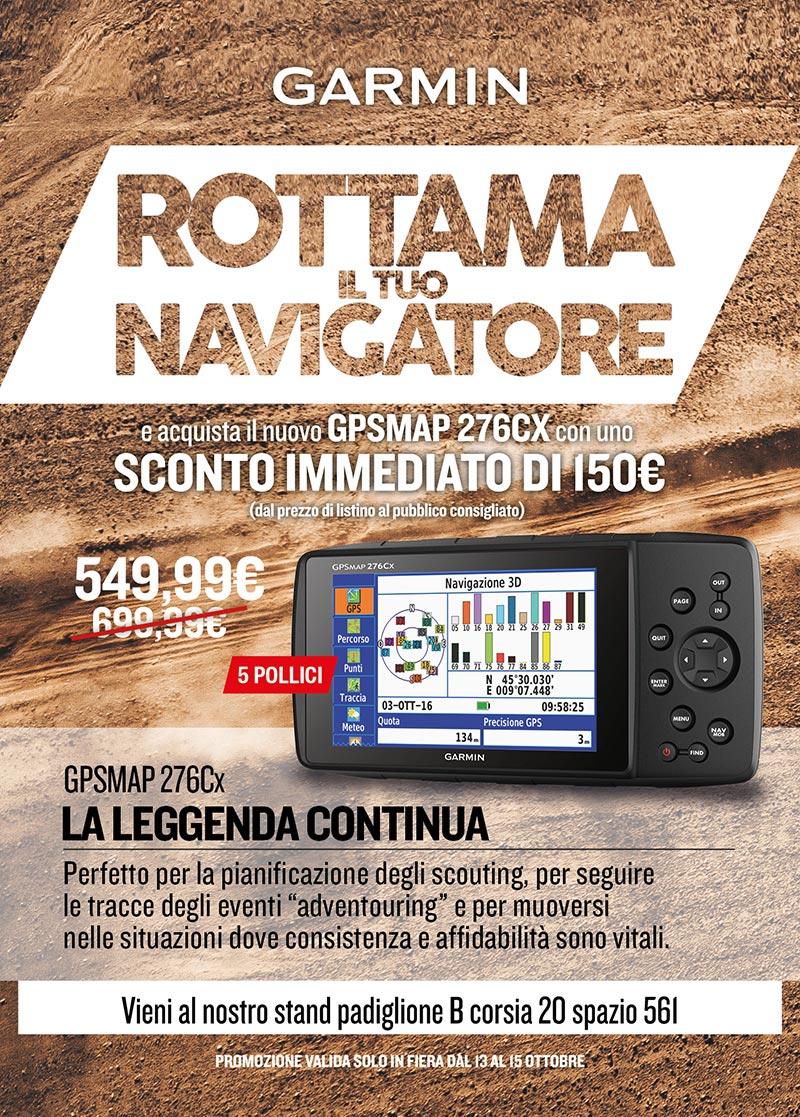 Rottamazione navigatore Garmin GPSMAP 276Cx
