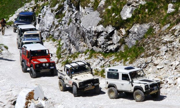 4x4 Fest Carrara 2018 Tour Corchia FIF