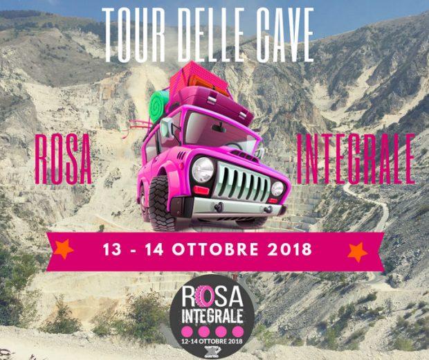 Locandina Tour Rosa Integrale 4x4 Fest Carrara 2018