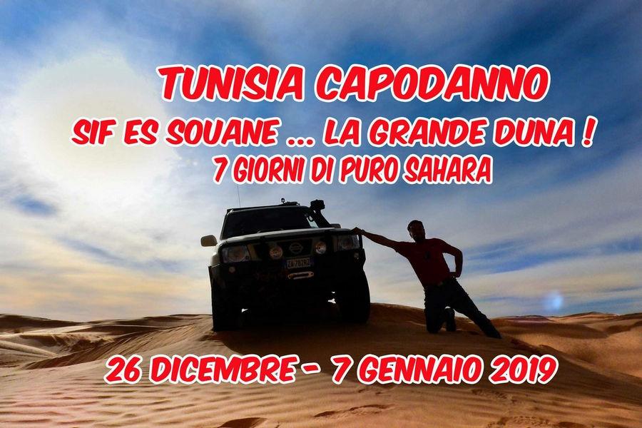 Locandina viaggio in Tunisia 4x4 Capodanno 2019