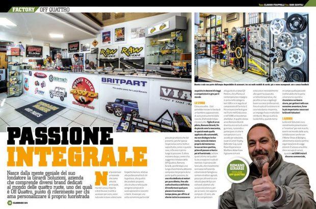 factory Off Quattro Elaborare 4x4 72