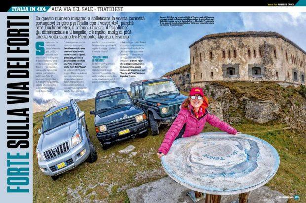 Viaggi in Italia alta via del sale Elaborare 4x4 72