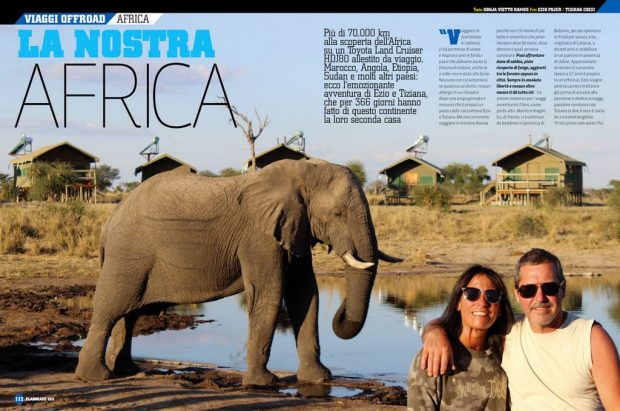 viaggi Africa Elaborare 4x4 72