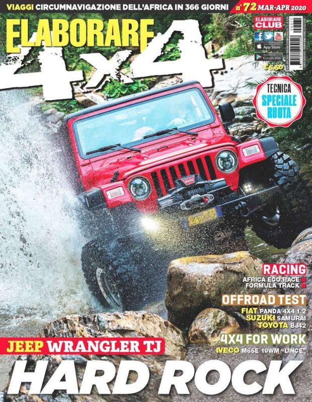 Cover Elaborare 4x4 numero 72 marzo-aprile 2020
