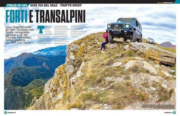 Italia in 4x4 Alta Via del Sale Tratto ovest Elaborare 4x4 73