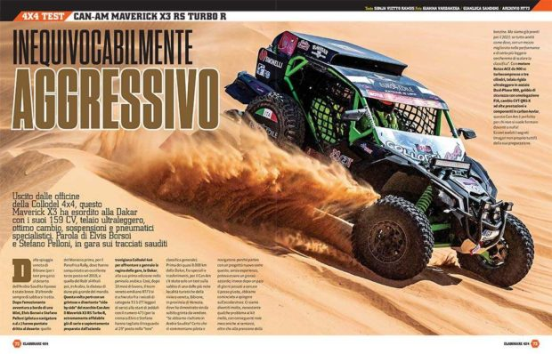 Can-Am Maverick X3 RS turbo R Elaborare 4x4 73
