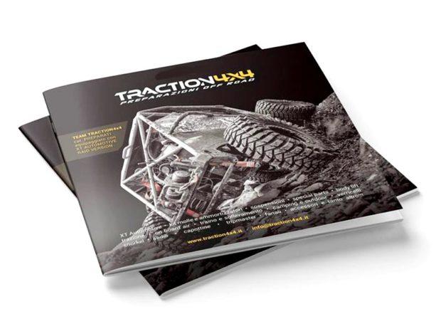 Catalogo accessori Traction4x4 per le preparazioni di fuoristrada