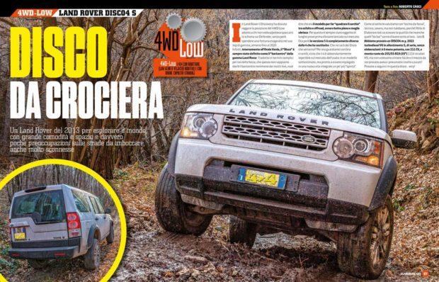 Land Rover Discovery 4 come è fatto caratteristiche come prima fuoristrada