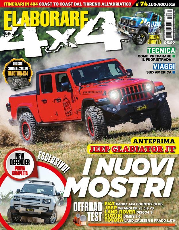 ELABORARE4x4 luglio-agosto 2020, magazine off road - ElaborarE 4x4
