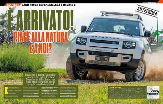 Land Rover Defender new prova completa